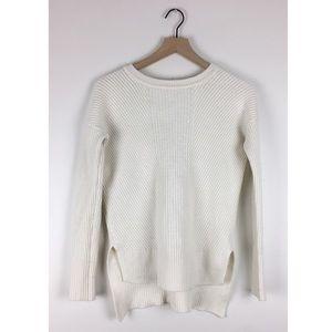 Athleta Merino Tunic Sweater in Cream